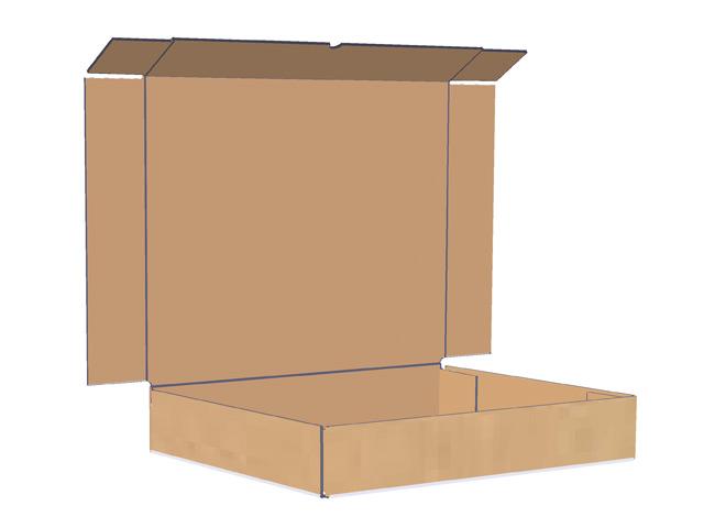 boite de carton boite de carton 5 panneaux. Black Bedroom Furniture Sets. Home Design Ideas